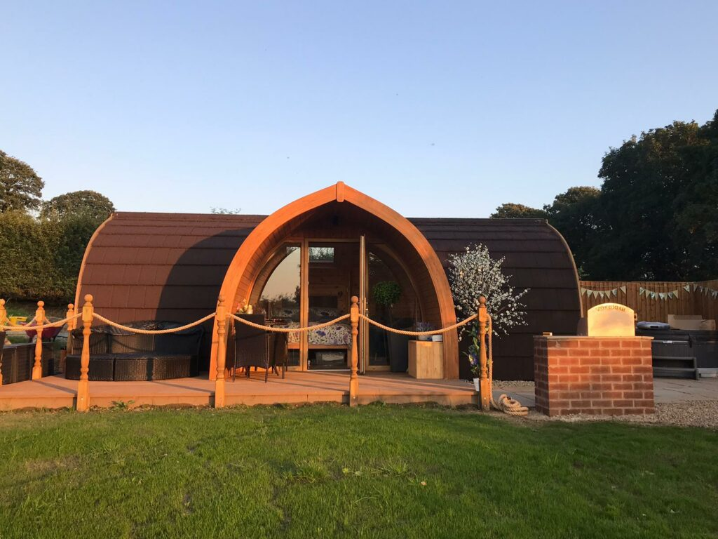 Hedgerow Luxury Glamping Pods